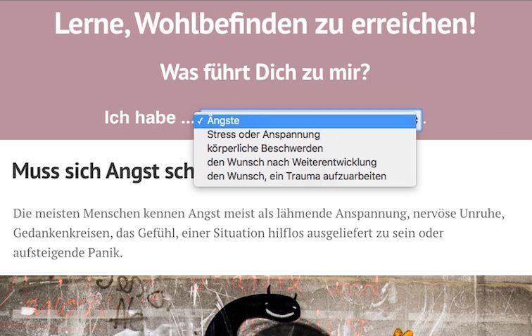Dynamische Landingpages » Website von Lisa Sundermeyer, Praktikerin der Grinberg Methode in Berlin