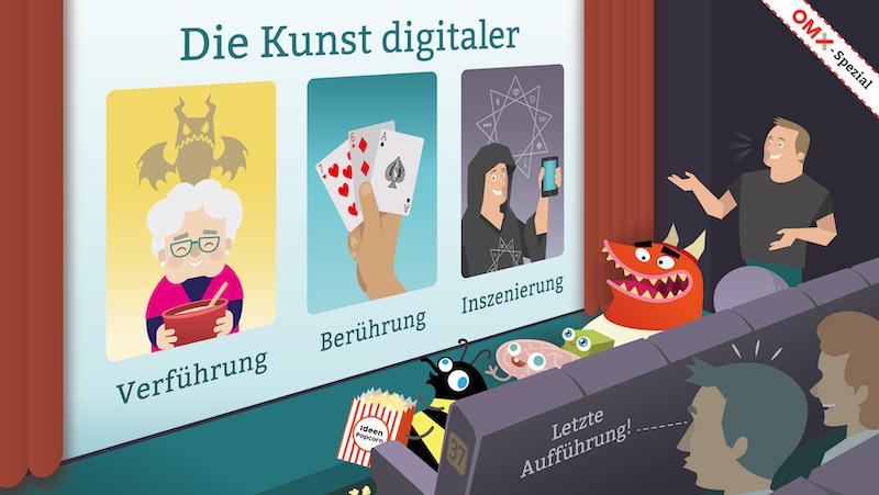 OMX Spezial: Karl Kratz Online Marketing mit der letzten Aufführung der Top-Keynotes Die Kunst digitaler ... Verführung / Berührung / Inszenierung